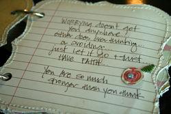 Close journaling 5