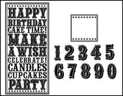 Birthday noteblock with numbers - web
